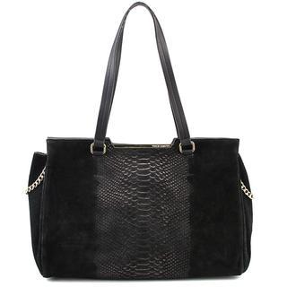 Vince Camuto Women's Belle Satchel Faux-suede Handbag
