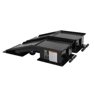 Omega 20 Ton Black Wide Truck Ramps (1 Pair)