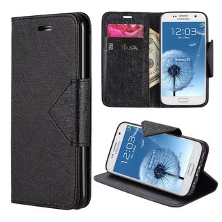 Pyramid Synthetic Leather Samsung Galaxy S7 Wallet Case