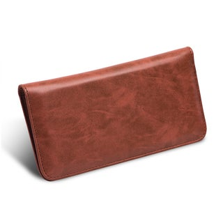 Universal Premium Leather Flip Wallet Pouch