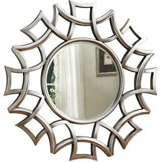 "Coaster Company Silver Starburst Accent Wall Mirror - 40"" x 2.25"" 40"""