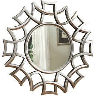 Coaster Company Silver Starburst Accent Wall Mirror