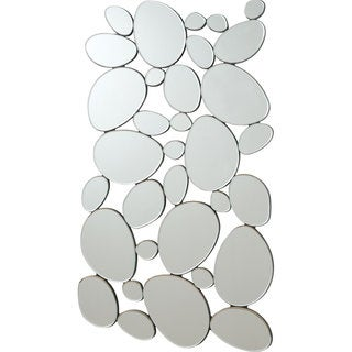 Coaster Silver Round Shapes Mirror