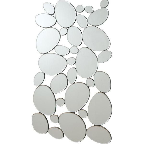 Coaster Company Silver Round Shapes Mirror