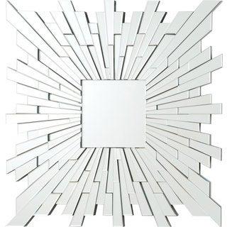 Coaster Square Starburst Frameless Mirror