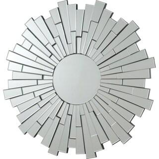 Coaster Company Round Burst Frameless Mirror