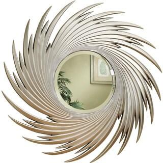 Coaster Silver Spiral Round Wall Mirror