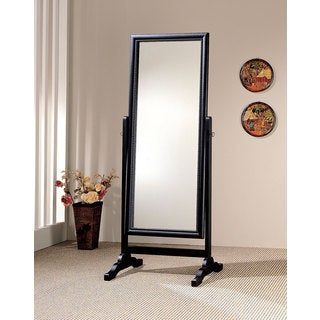 Coaster Company Black Cheval Full-length Mirror