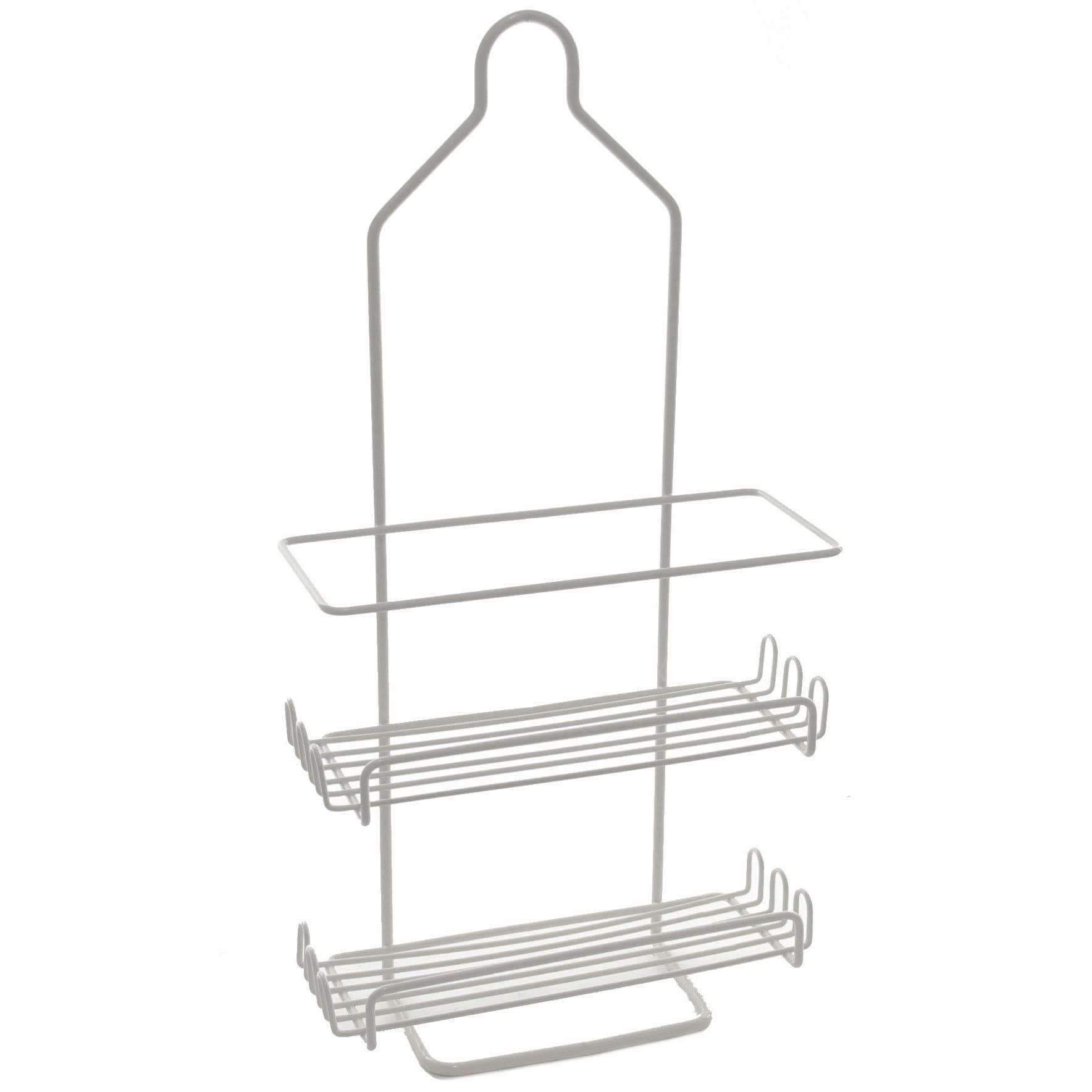 YBM Home Two Tier Deluxe Shower Caddy Rack Organizer | eBay