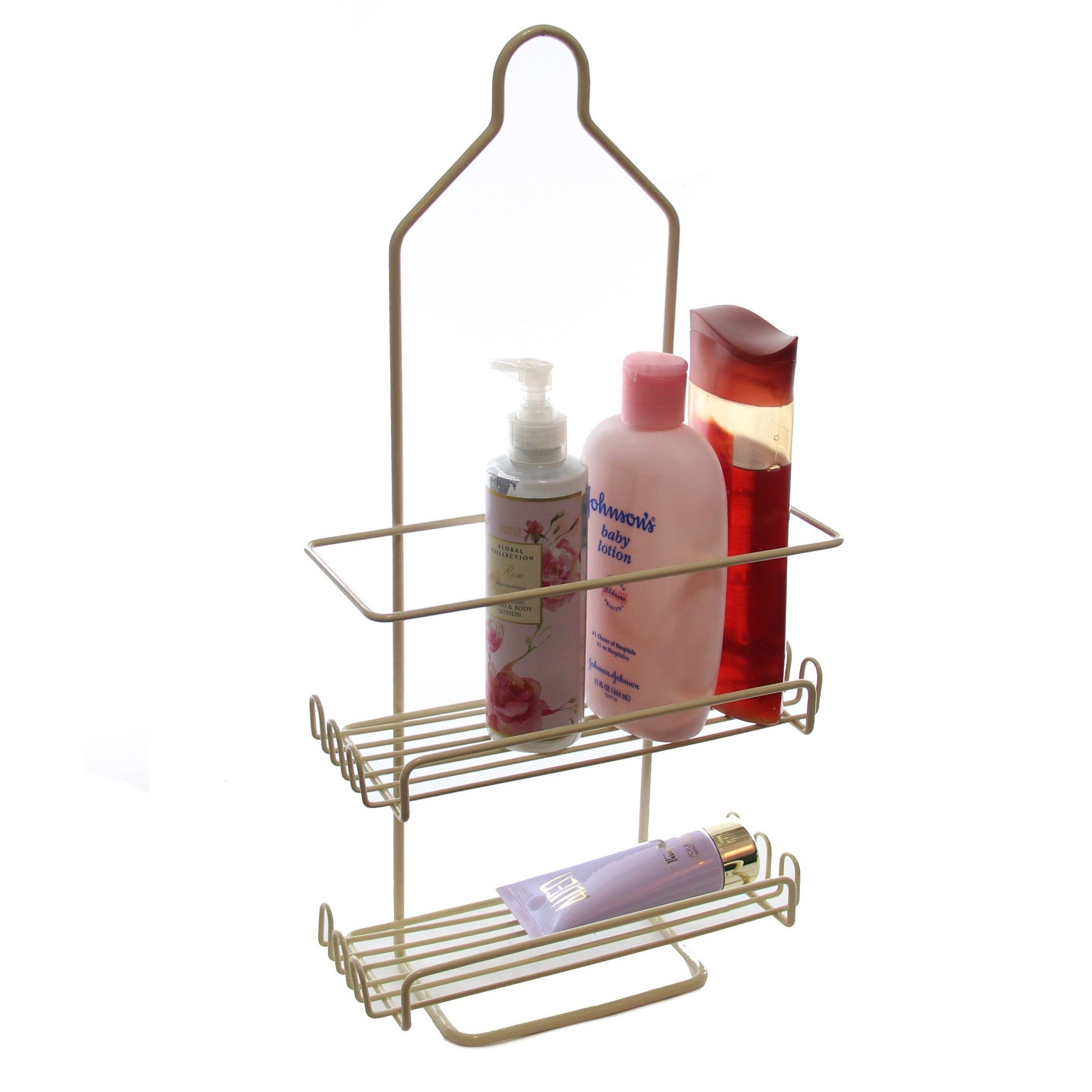 YBM Home Two Tier Deluxe Shower Caddy Rack Organizer | eBay