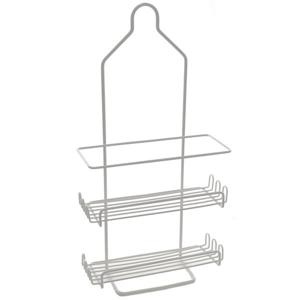 YBM Home Two Tier Deluxe Shower Caddy Rack Organizer