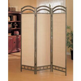 Coaster Company Graphite Three-panel Folding Screen