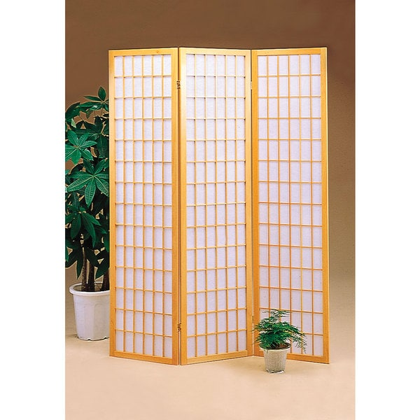 Coaster Company Asian-inspired Folding 3-panel Screen