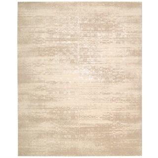 Nourison Silk Elements Bone Area Rug (2'3 x 3')