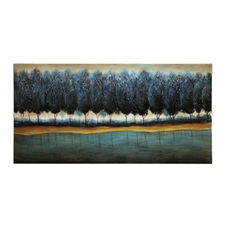 Coaster Blue Forest Canvas Wall Art