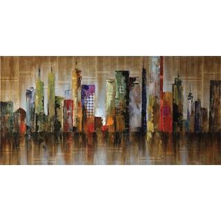 Coaster 'Seaside Metropolitan' Wall Art