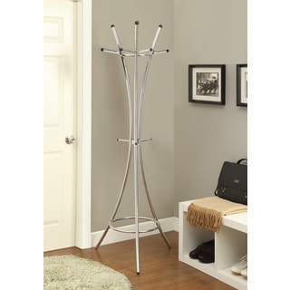 "Porch & Den Lincoln Hwy Metal Coat Rack - 20.50"" x 20.50"" x 70"""