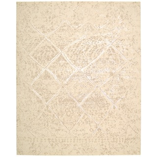 Nourison Silk Elements Natural Area Rug (2'3 x 3')