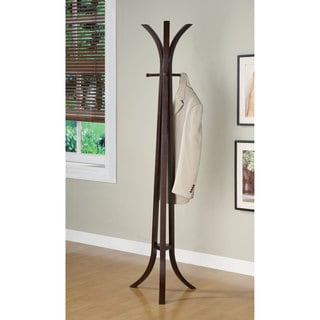 Coaster Company Cappuccino Wood Contemporary Coat Rack