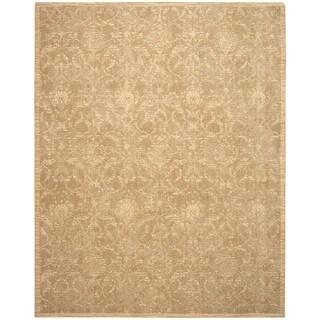 Nourison Silk Elements Sand Area Rug (2'3 x 3')