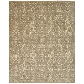 Nourison Silk Elements Moss Area Rug (2'3 x 3')