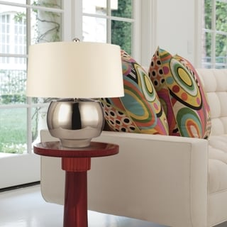 Hudson Valley Holden 1-light 24-inch Polished Nickel Table Lamp