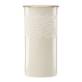 Lenox Lace Cylinder Vase