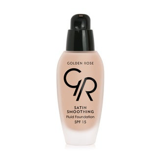 Golden Rose Satin Smoothing SPF 15 Vitamin E Enriched Fluid Foundation