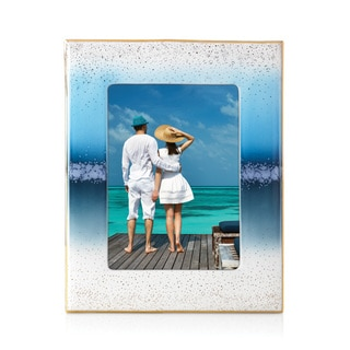 Lenox Seaview Blue/White Porcelain 5-inch x 7-inch Frame