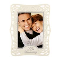 Lenox 25th Anniversary 5-inch x 7-inch Frame