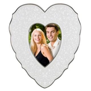 Lenox Opal Innocence 4-inch x 6-inch Heart Frame