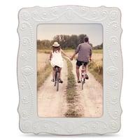 Lenox French Perle White Stoneware 5-inch X 7-inch Frame
