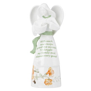 Lenox Butterfly Meadow Success Multicolor Porcelain Angel Bell