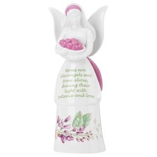 Lenox Butterfly Meadow Mom Multicolor Porcelain Angel Bell