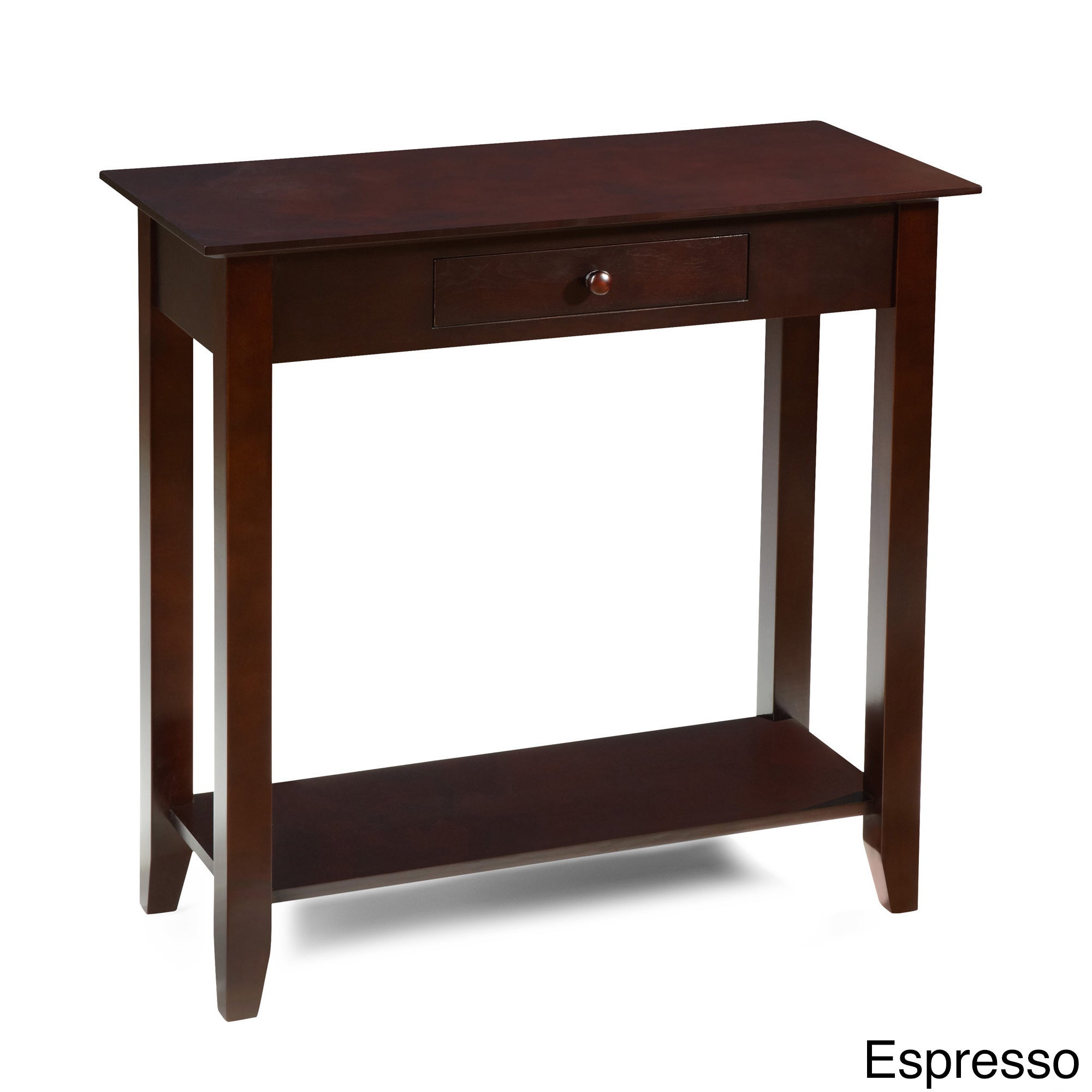 Convenience Concepts American Heritage Hall Table with Dr...