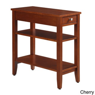 Porch & Den Bywater Villere 3-tier Single-drawer End Table (4 options available)