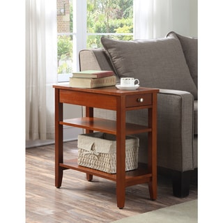 Orange coffee sofa end tables affordable accent for Orange outdoor side table