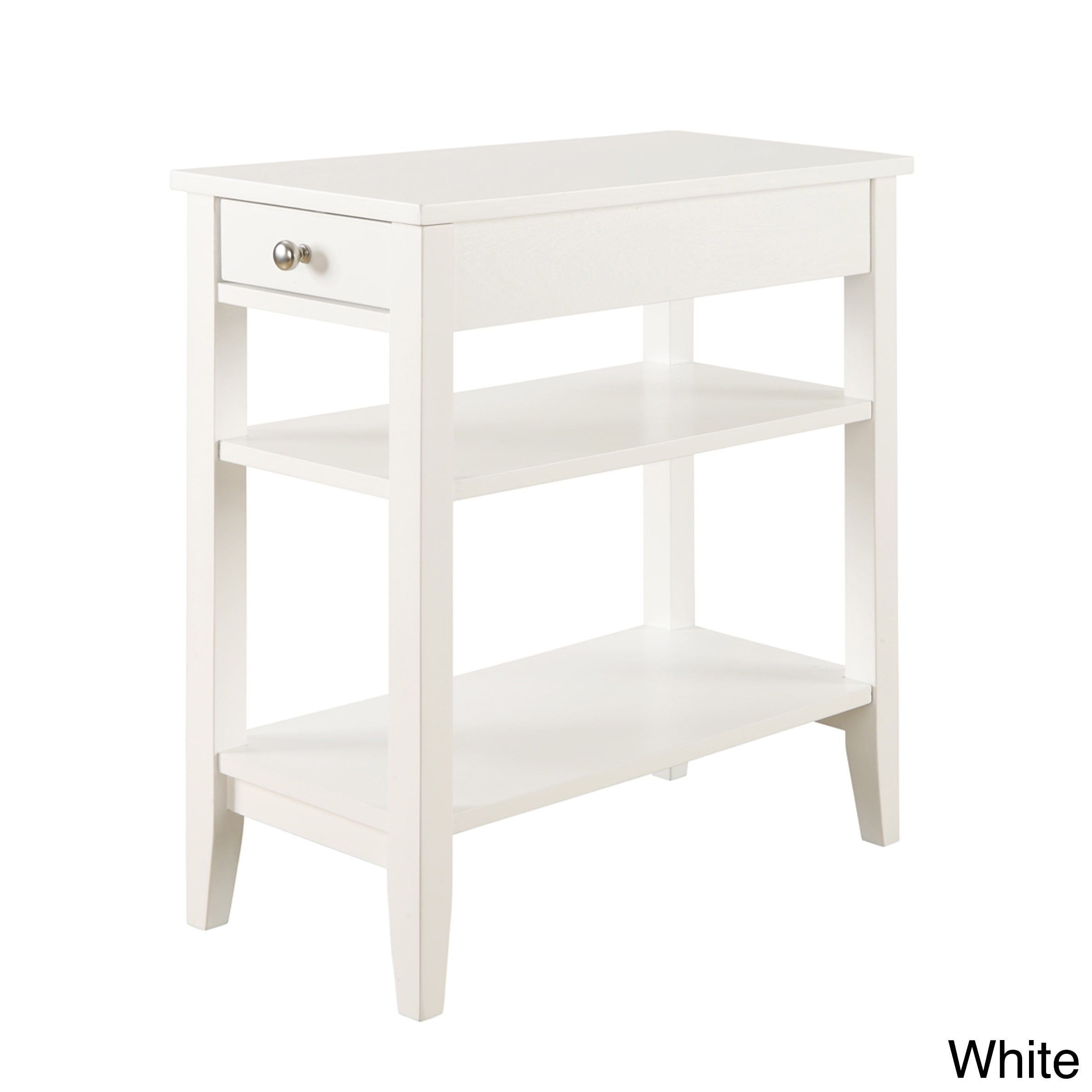 White Coffee Console Sofa End Tables Online At Our Best Living Room Furniture Deals