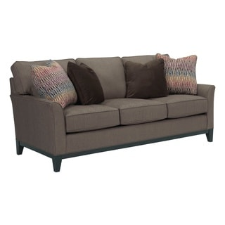 Broyhill Perspectives Beige Upholstered Sofa