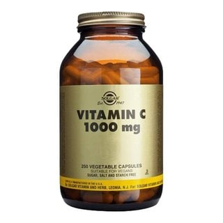 Solgar 1000-milligram Vitamin C Vegetable Capsules (250 Count)