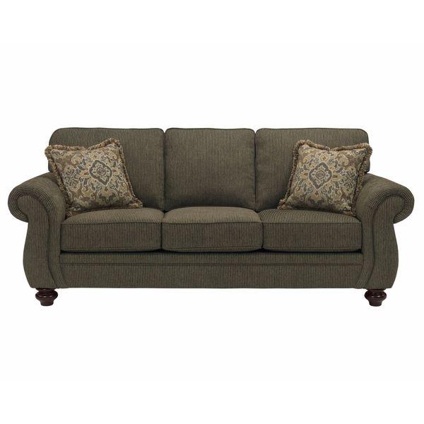 Broyhill Sofa Sets: Broyhill Cassandra Brown Upholstered Sofa