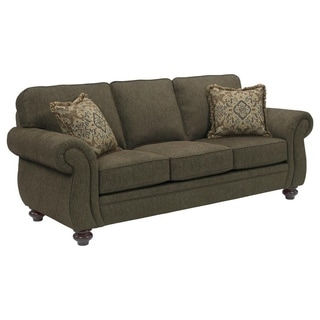 Broyhill Cassandra Brown Upholstered Sofa