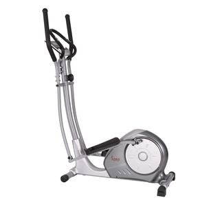 Sunny Health & Fitness SF-E3608 Silver Portable Magnetic Elliptical Trainer