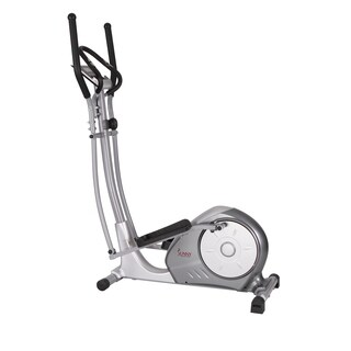Sunny Health & Fitness SF-E3608 Silver Portable Magnetic Elliptical Trainer