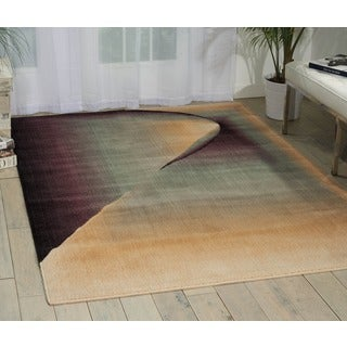 Nourison Radiant Arts Opal Area Rug (2'3 x 4')
