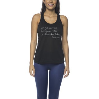 Be Up Women's Be Yourself Polyester Tank