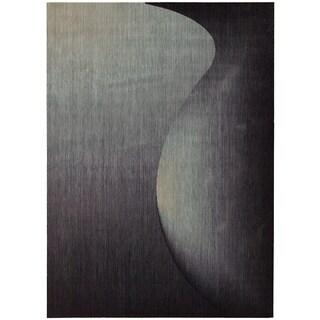Nourison Radiant Arts Onyx Area Rug (2'3 x 4')
