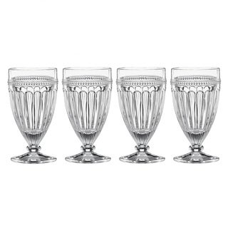 Lenox French Perle Clear Crystal All-purpose Glass (Pack of 4)