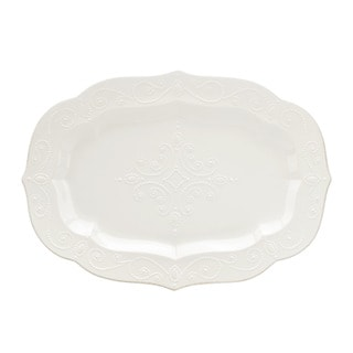Lenox French Perle White 18.5-inch Large Serving Platter