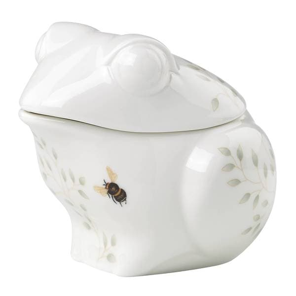 Shop Lenox Butterfly Meadow White Porcelain Figural Frog